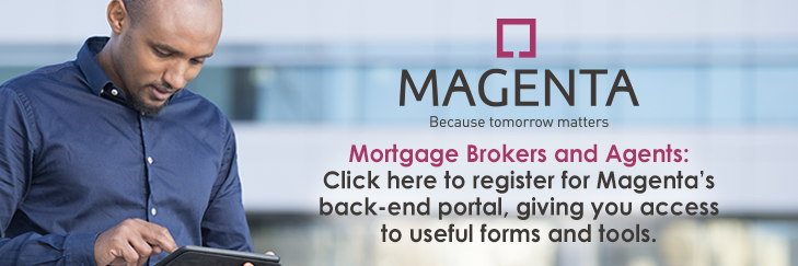 Register for Magenta's back-end portal to access useful forms and tools